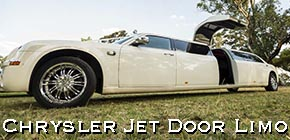 perth chrysler jet door limo hire