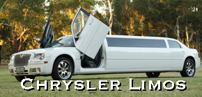 perth airport transfers, chrysler limo