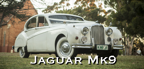 perth jaguar mk9, wedding cars