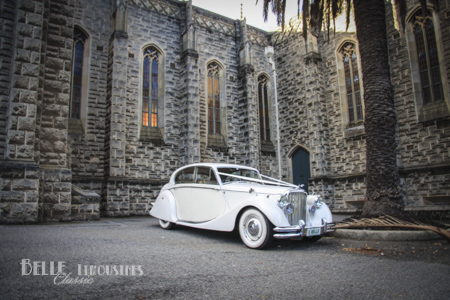 Jaguar Mk5 Wedding Car Hire 7