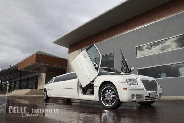 Chrysler lambo door limousine (max 11 passengers) BE $1090