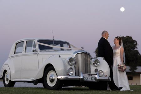Bentley wedding cars Perth