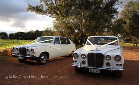 Daimler limousines Perth
