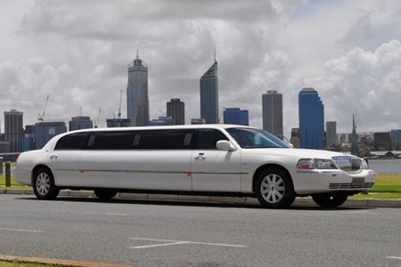 Lincoln limousine hire Perth