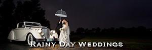 wet wedding photography