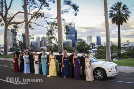 chrysler school ball limos