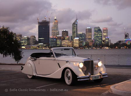 Jaguar limo hire Perth