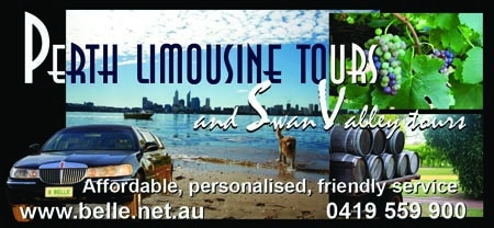 Perth limo tours