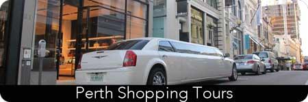 limo shopping tours