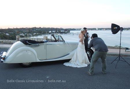Wedding car hire Perth