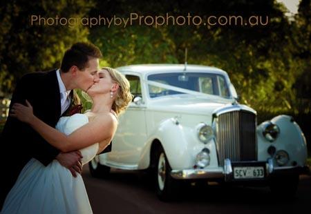 Bentley wedding car hire perth