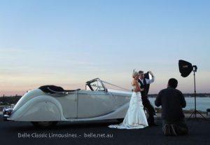 Jaguar wedding car hire Perth