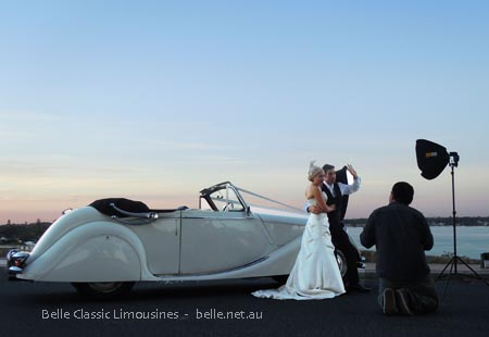 Jaguar wedding car hire Perth