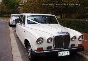 Daimler wedding limousines Perth