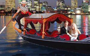 Gondola on the Swan