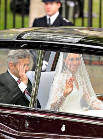 Royal wedding transport
