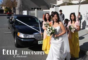 lincoln wedding limo