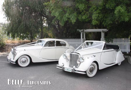 perth wedding car