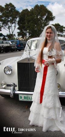 belle wedding cars