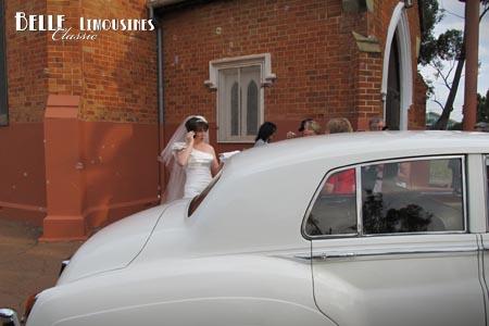 swan valley wedding car