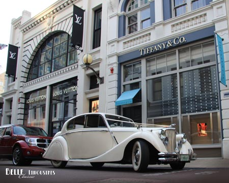 city wedding car hire