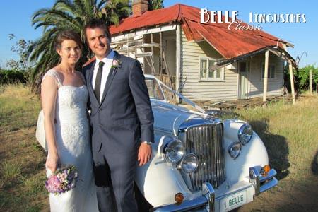 jaguar wedding car perth