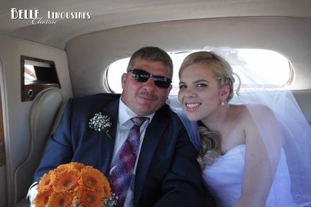 wedding car hire guildford