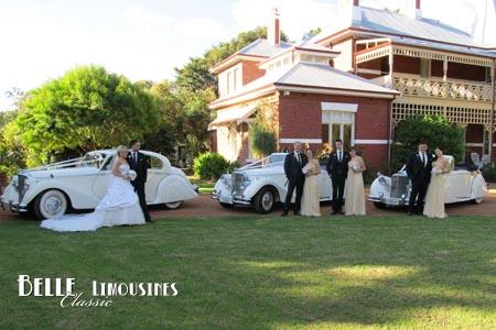 classic wedding cars swan valley