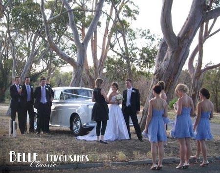 kings park wedding car photos