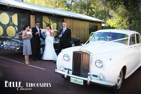 rolls royce wedding limousine