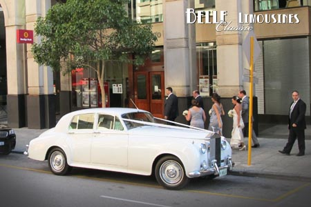 perth limo hire for wedding