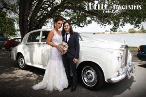 rolls royce bridal limo