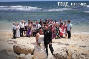 trigg beach wedding photo