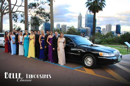 school ball limos perth