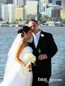matilda bay wedding limos perth