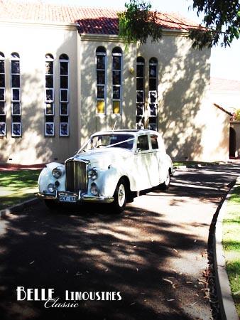 wedding car santa maria chapel