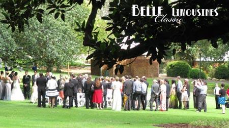 wedding ceremony at Hyde Park