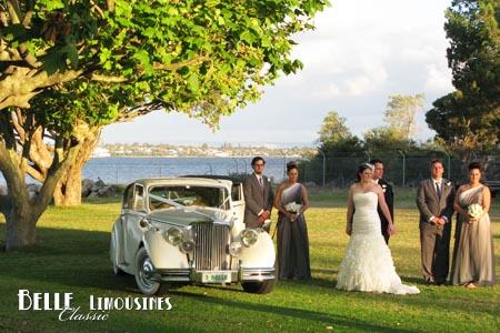 classic jaguar wedding limos