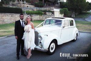 classic chauffeured wedding cars