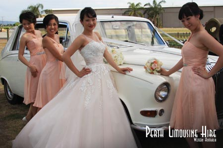 luxury wedding limos perth