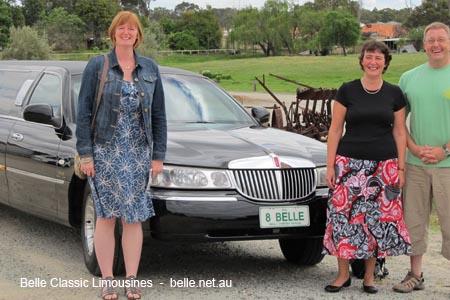 limo tours perth
