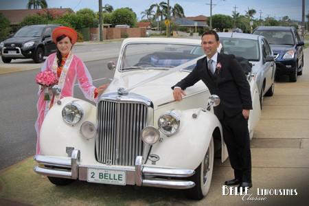 Jaguar Wedding Car Perth Wa Belle Clic Cars