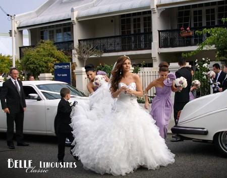 wedding limousines perth