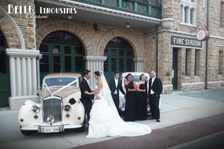 perth fire station wedding cars
