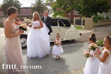 jaguar wedding cars perth