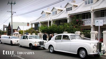 classic wedding limos