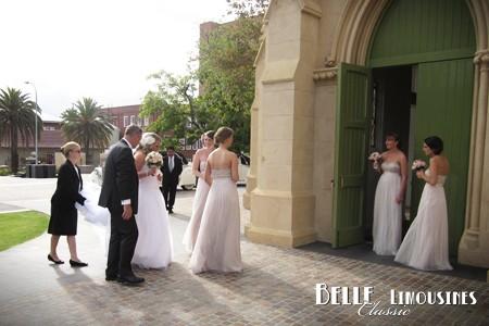chauffeured wedding cars perth