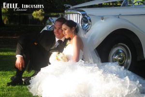 Hyde Park is a wonderful background for wedding photography