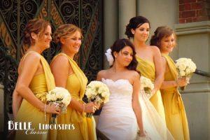 belle classic wedding limos