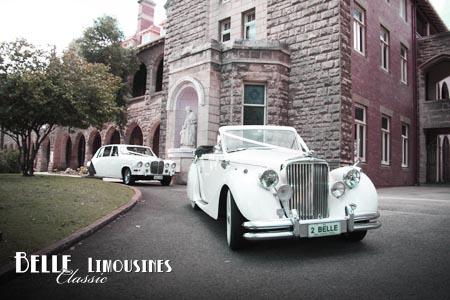 daimler wedding limos